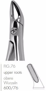 Extracting Forceps English Pattern FIG.76