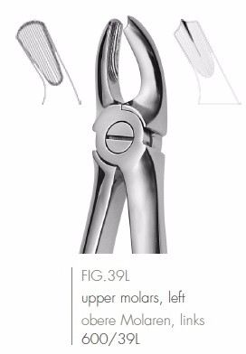 Extracting Forceps English Pattern FIG.39L