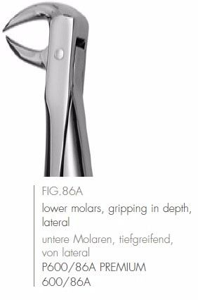 Extracting Forceps English Pattern FIG.86A