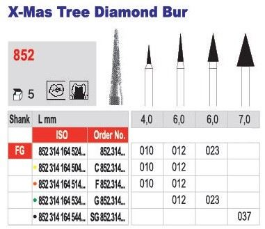 X-Mas Tree Diamond Bur