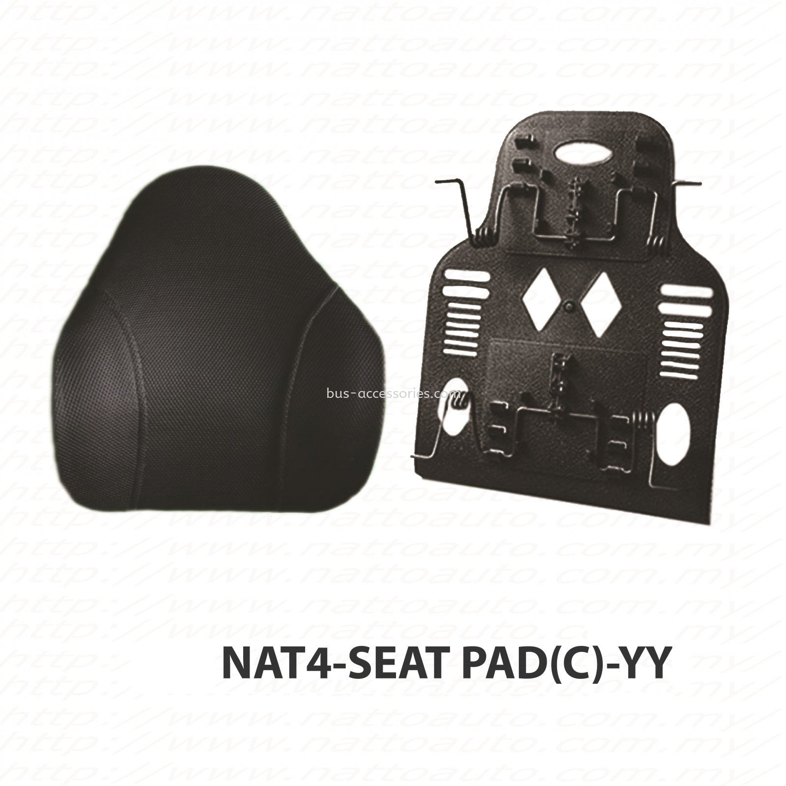 SEAT PAD BACK REST