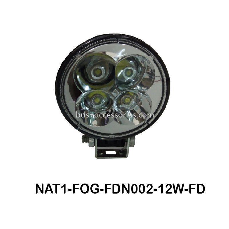 FOG LAMP LED 80MM MULTI-VOLT 12W