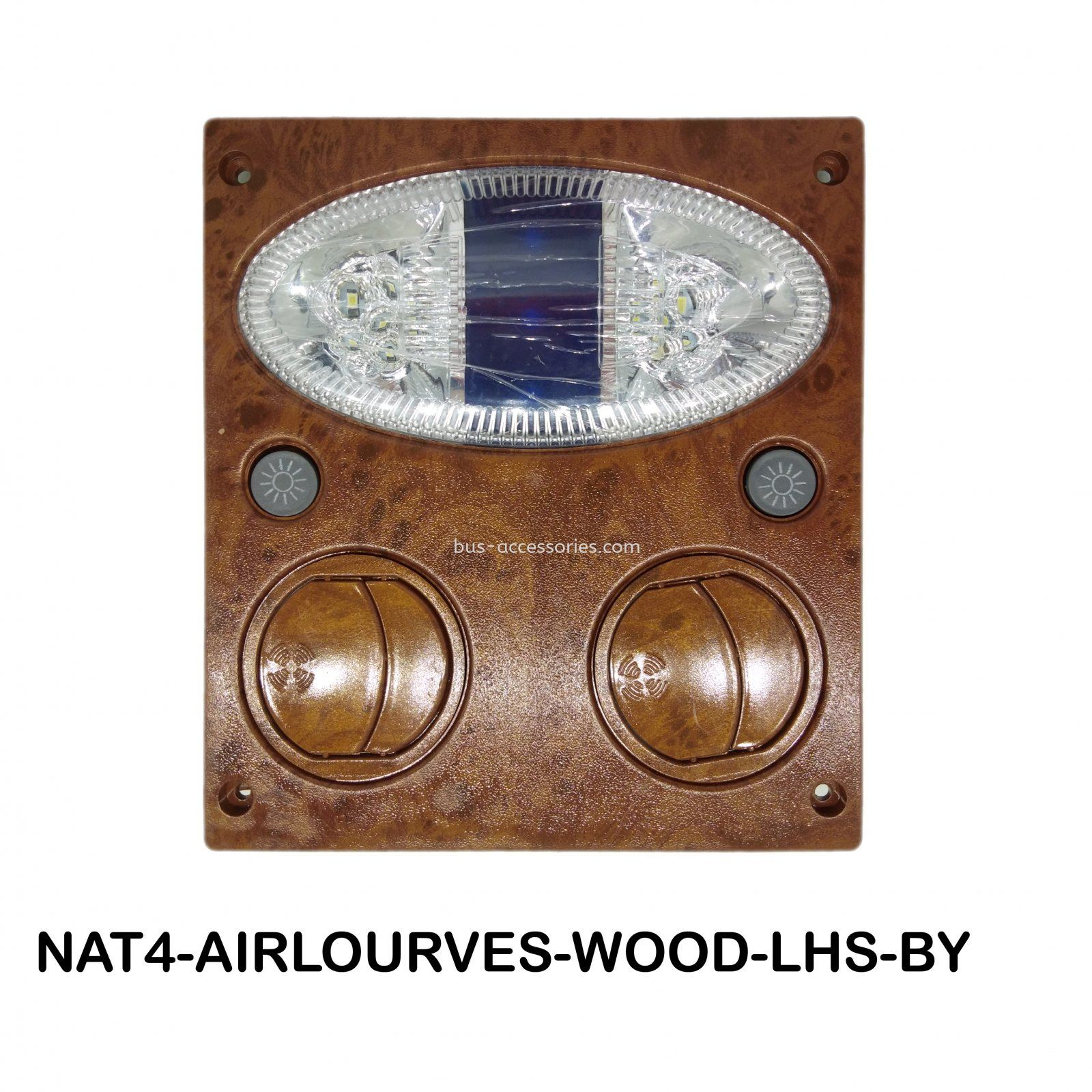 AIR LOURVES WOODEN 24V AIR LOURVES WOODEN 24V Auto interior parts bus wind outlet air vent louver with reading light MALAYSIA INDONESIA INDIA SINGAPORE THAILAND