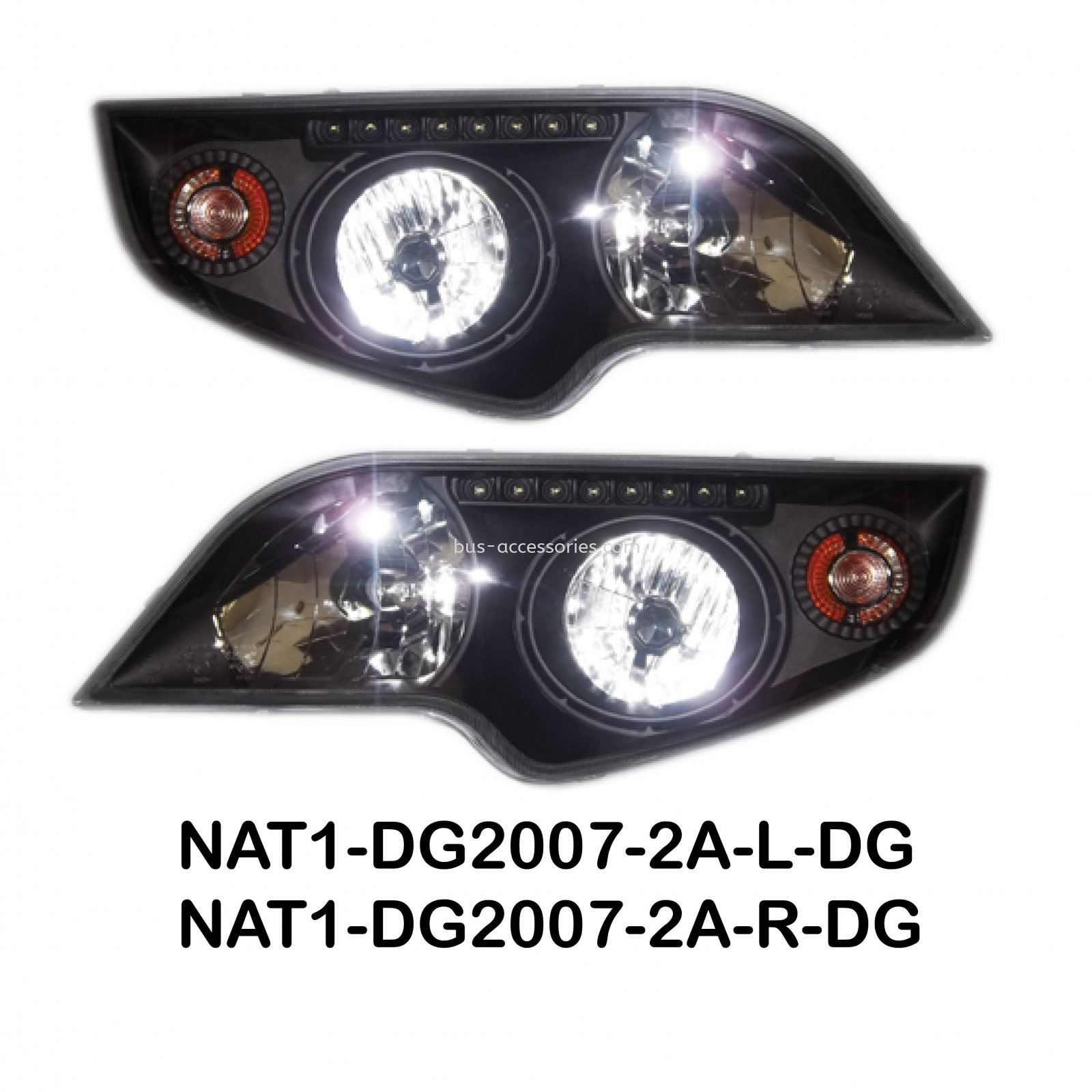 COMBINATION HEADLAMP DG2007-2A