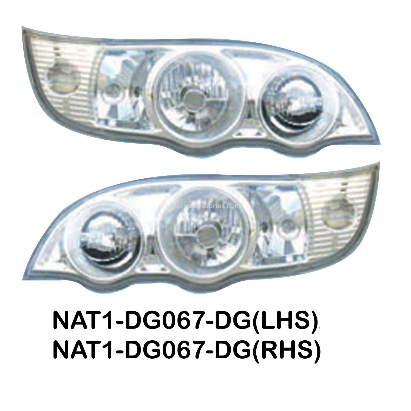 COMBINATION HEADLAMP DG067