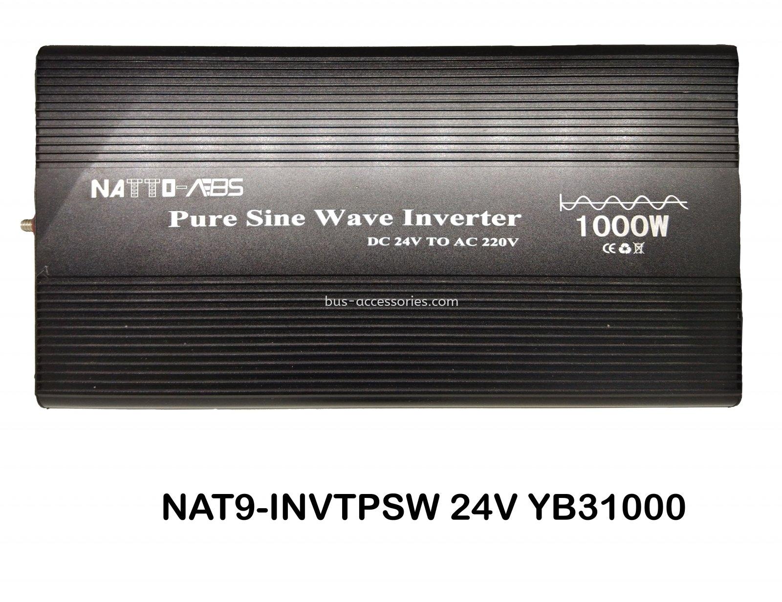 POWER INVERTER PURE SINE WAVE 24V 1000W