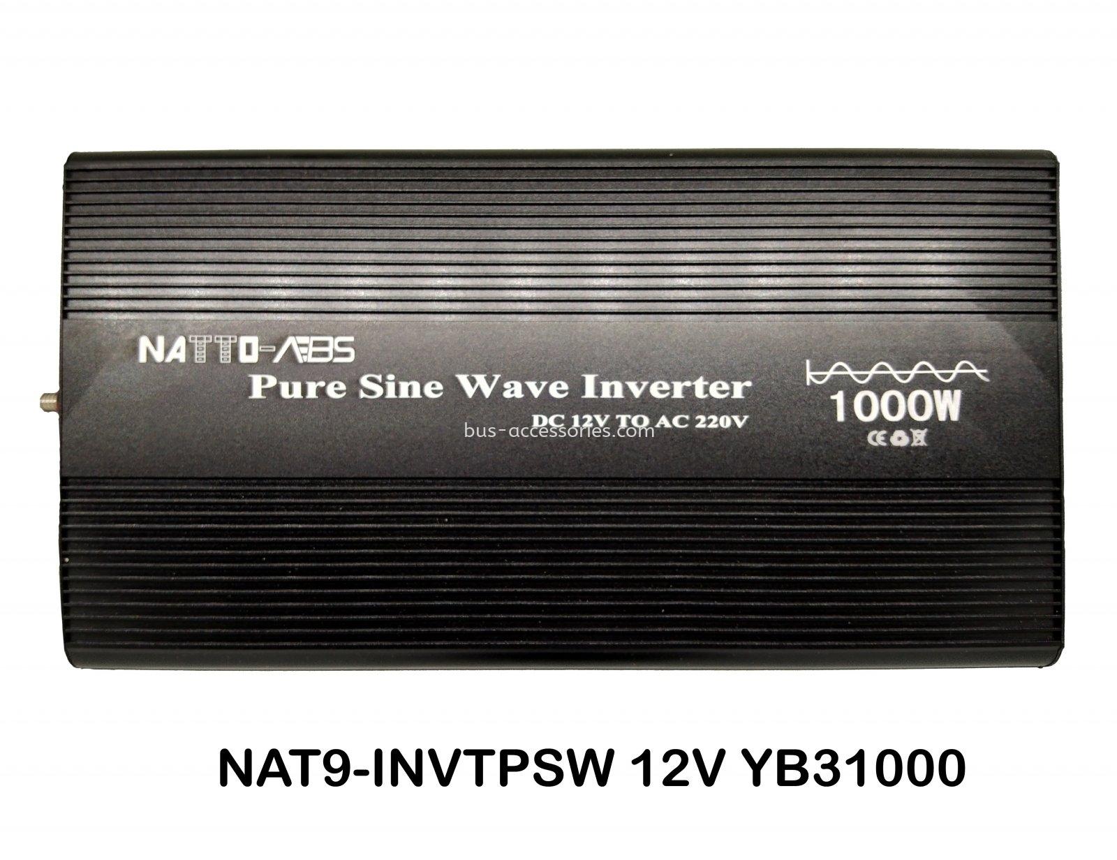 POWER INVERTER PURE SINE WAVE 12V 1000W
