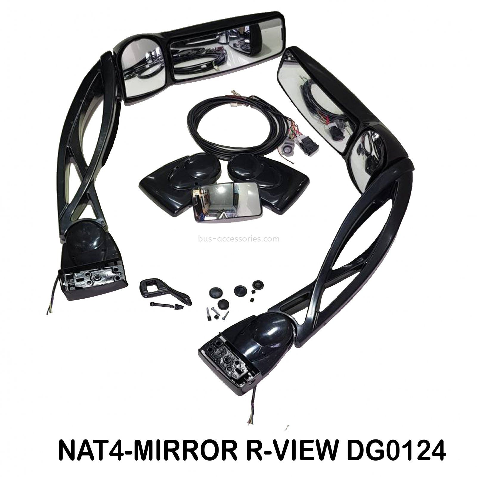 ELECTRIC VIEW MIRROR DG0124  SIDE MIRROR