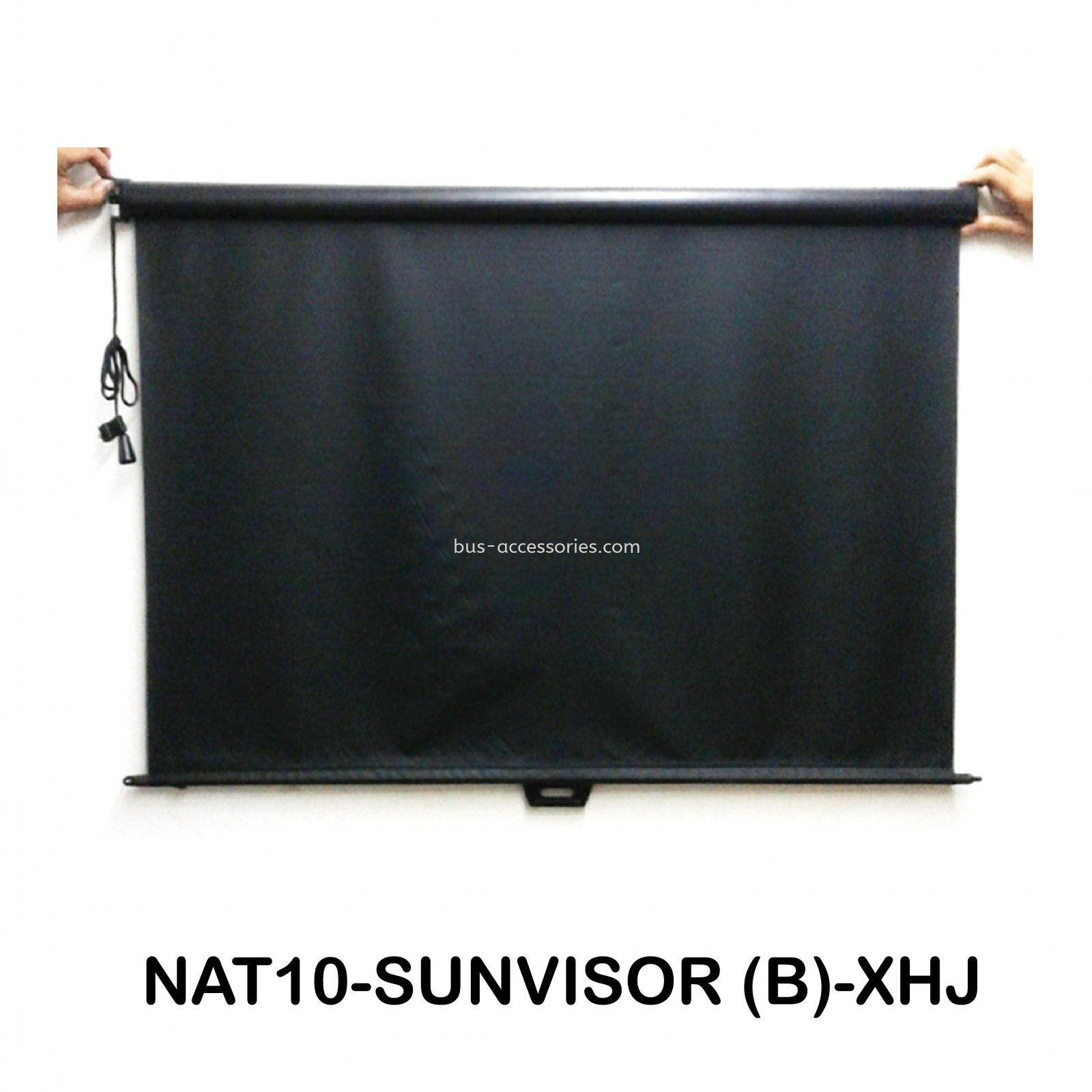 BUS SUNVISOR (BLACK)