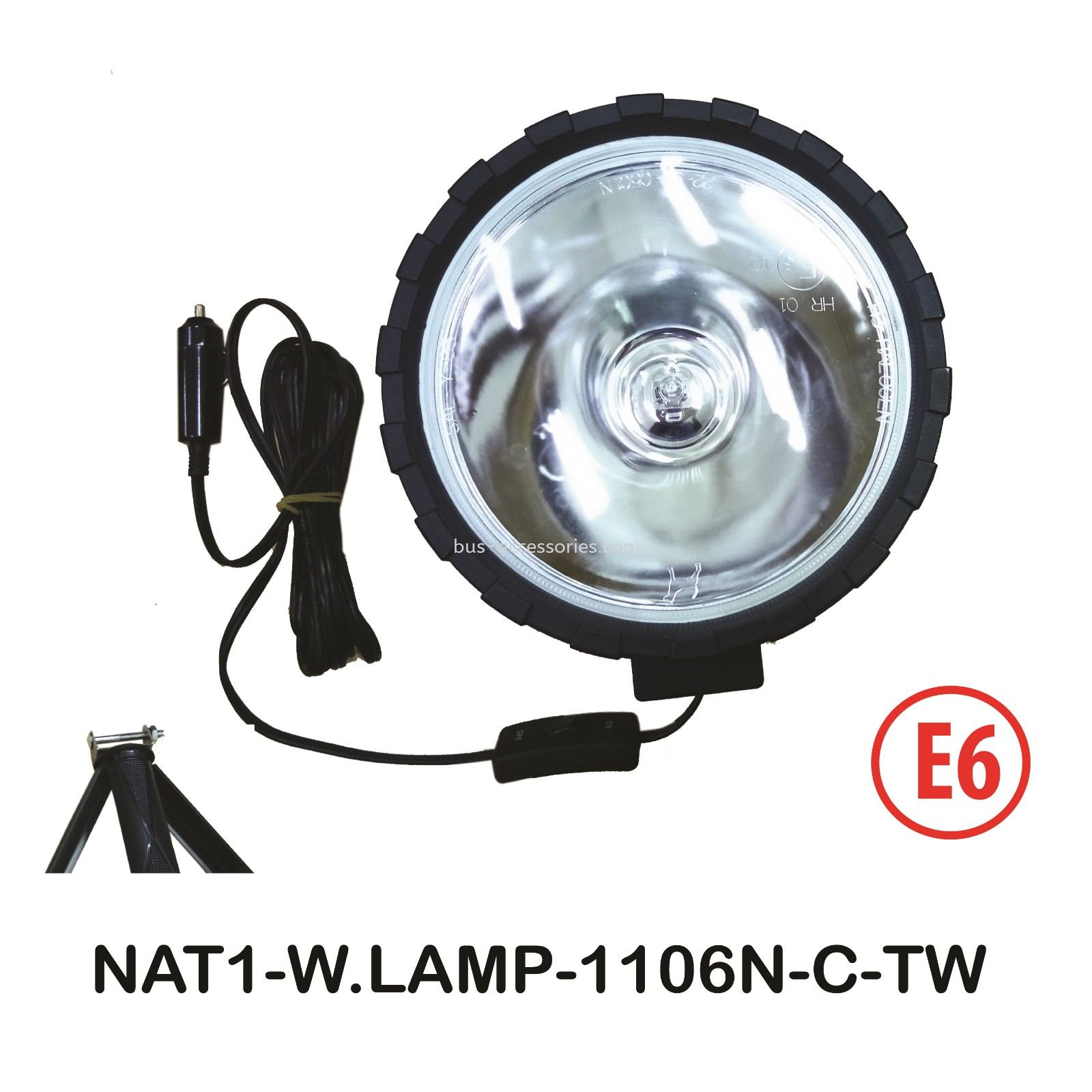 WORKING LAMP (H312V55W)CLEAR LENS