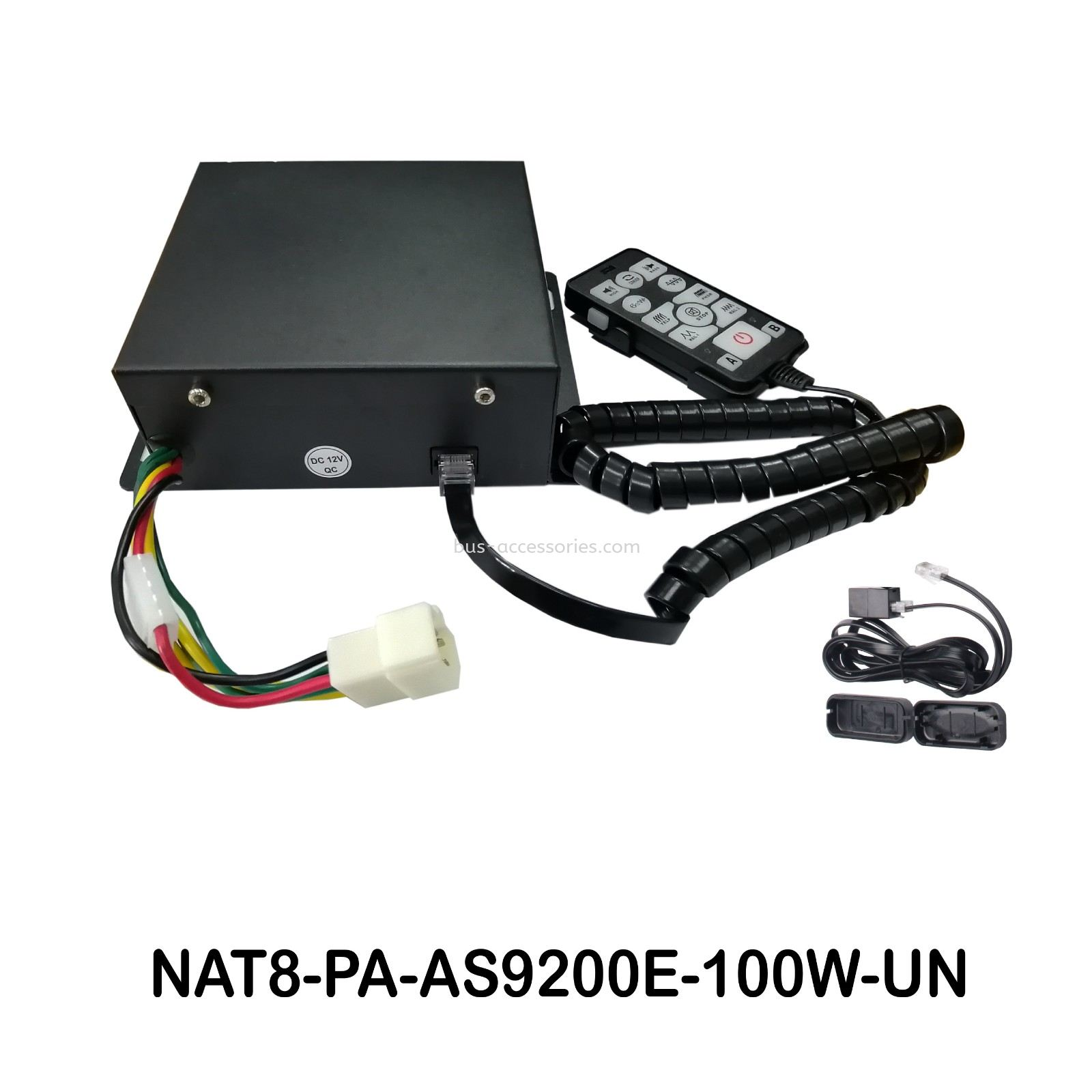 PA SYSTEM AS-9200E-100W-DC12VOLT