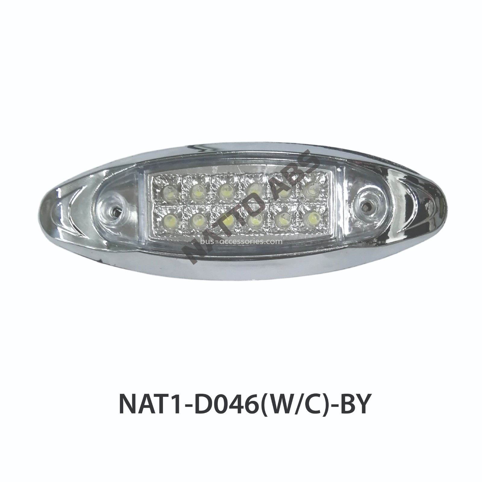 SIDE MARKER LAMP(D046) -CHROME MALAYSIA THAILAND INDIA SINGAPORE INDONESIA