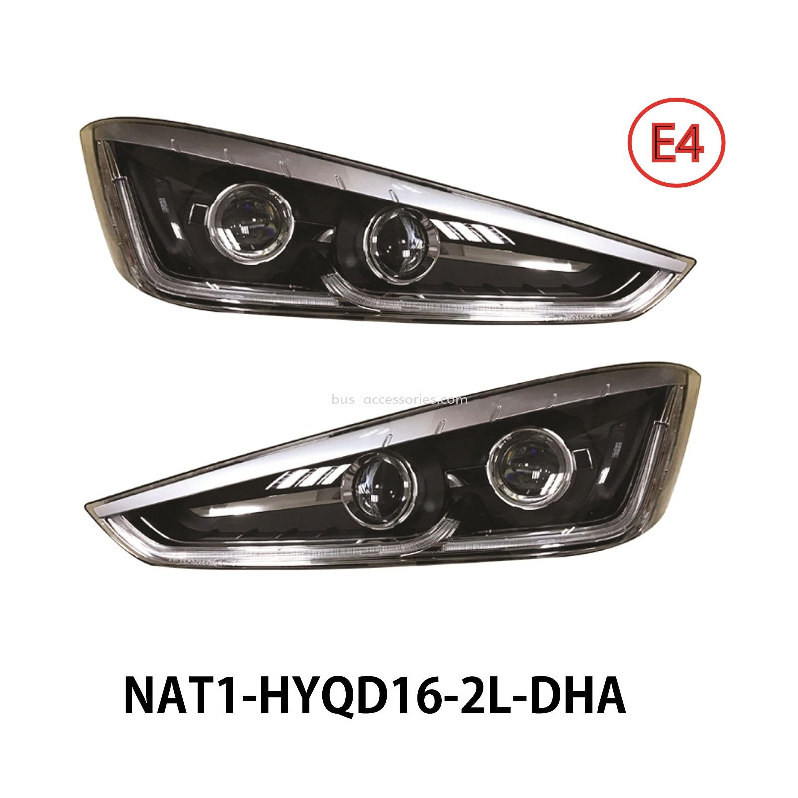 BUS HEAD LAMP (L-R)-DHA-10