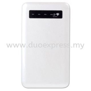 Ultra Slim Touch Screen Power Bank (4000mAh) - White
