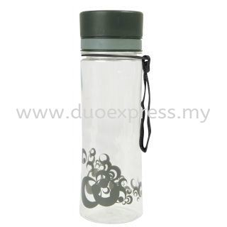 Transparent Bubble PC Bottle