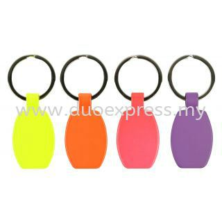 Fluorecent Metal Key Holder
