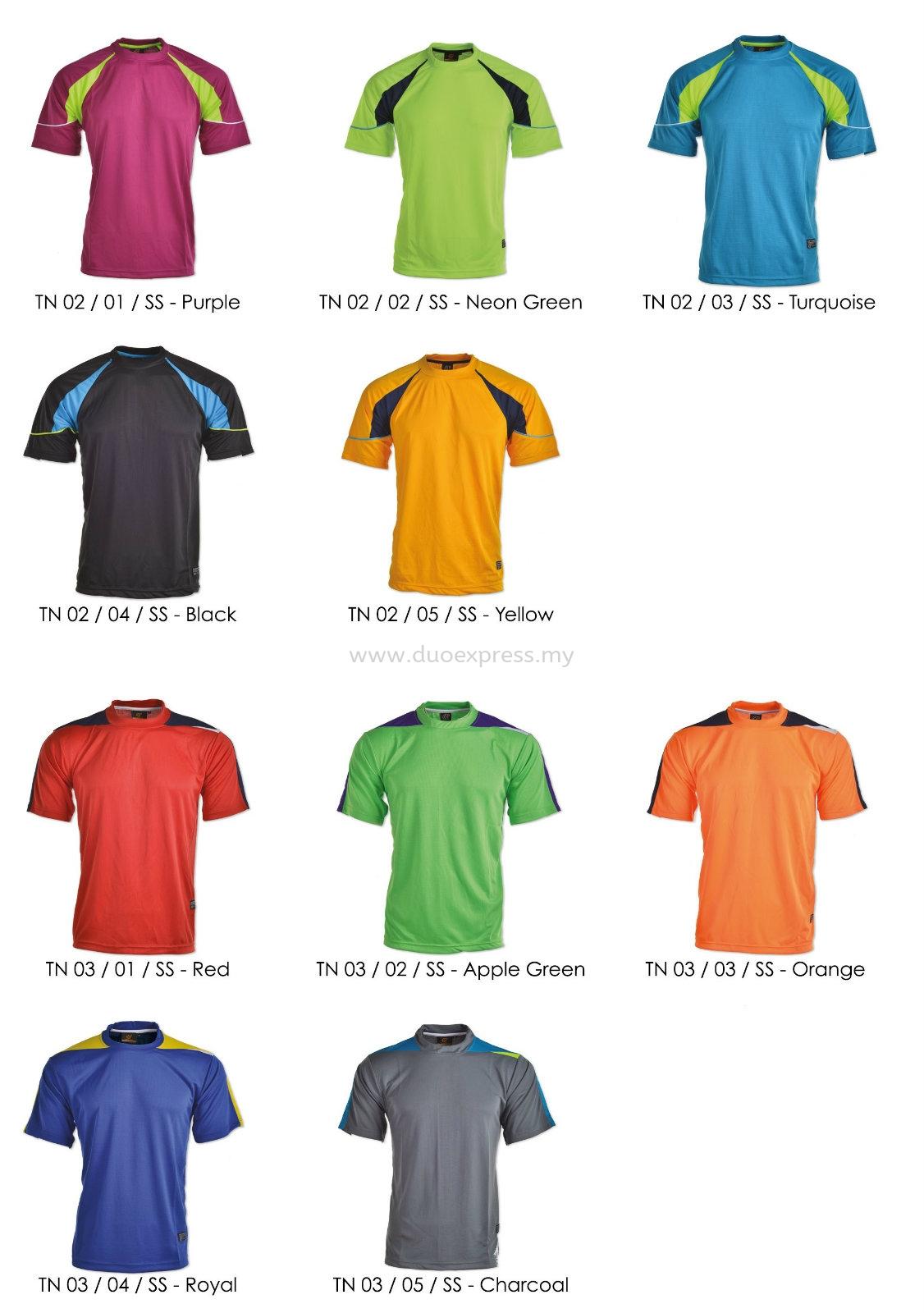 Plain Microfibre T-Shirt 8