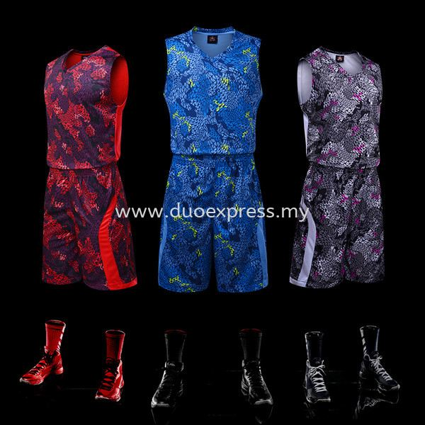 Dye Sublimation Basketball Jersey 4