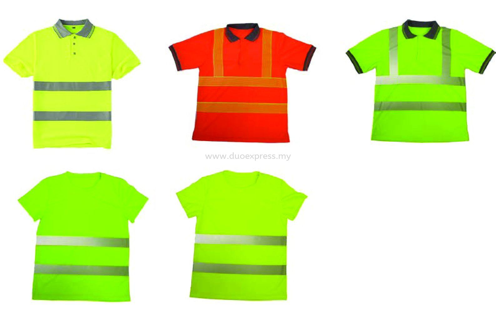 Safety Reflective T Shirt