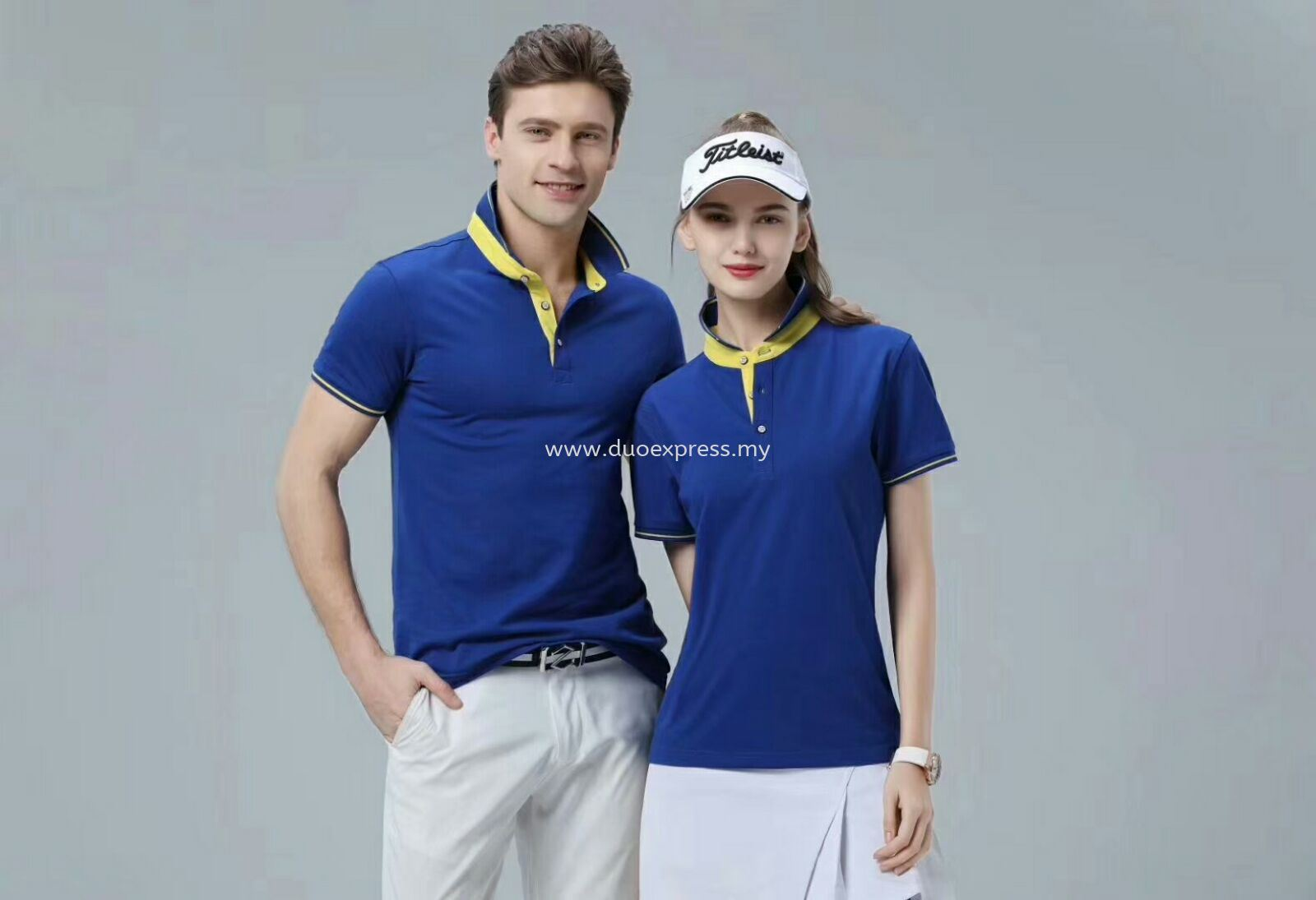 Polo Collar Tee Shirt