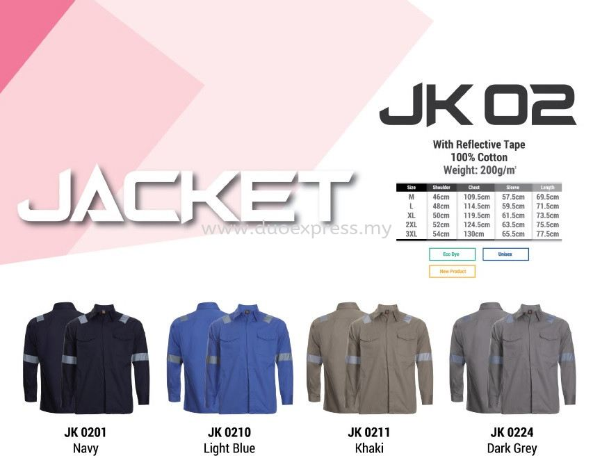 JK02 Factory Jacket