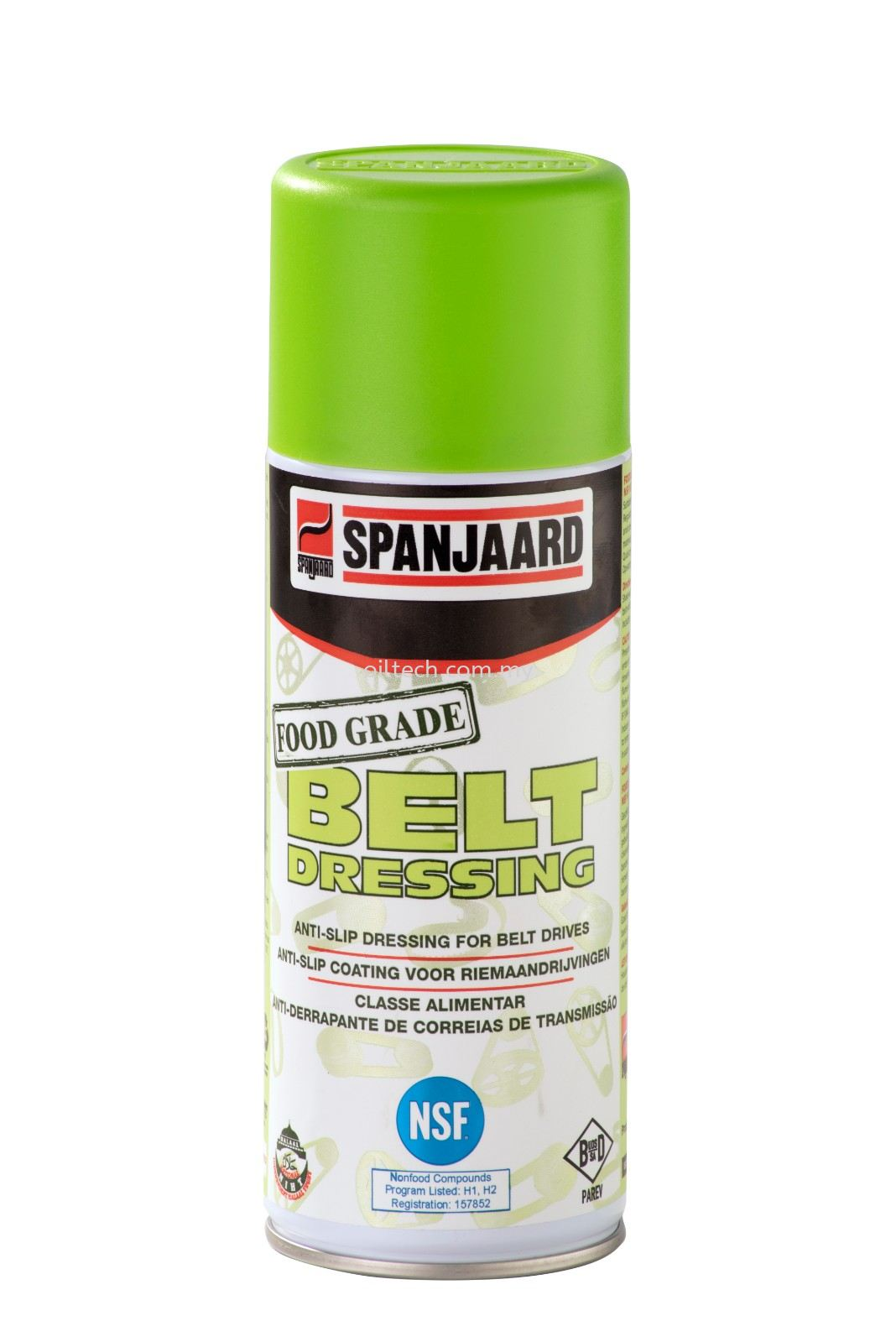 Food Grade Belt Dressing Spray - Spanjaard Malaysia