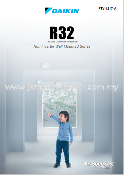 DAIKIN R32 NON-INVERTER WALL MOUNTED