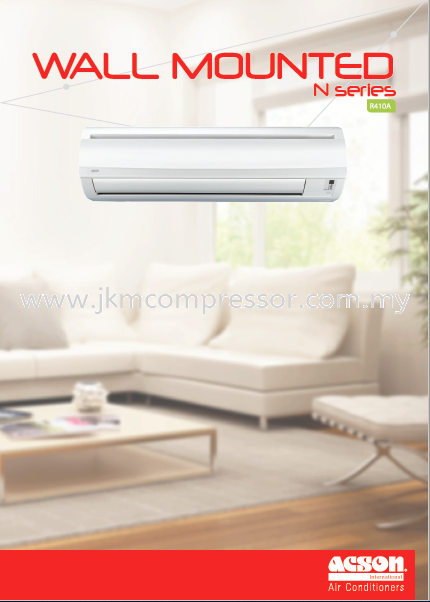 ACSON R410A NON-INVERTER N-SERIES WALL MOUNTED