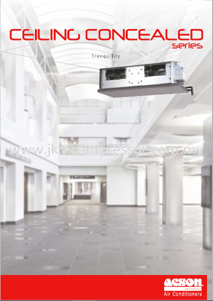 ACSON R410A CEILING CONCEALED