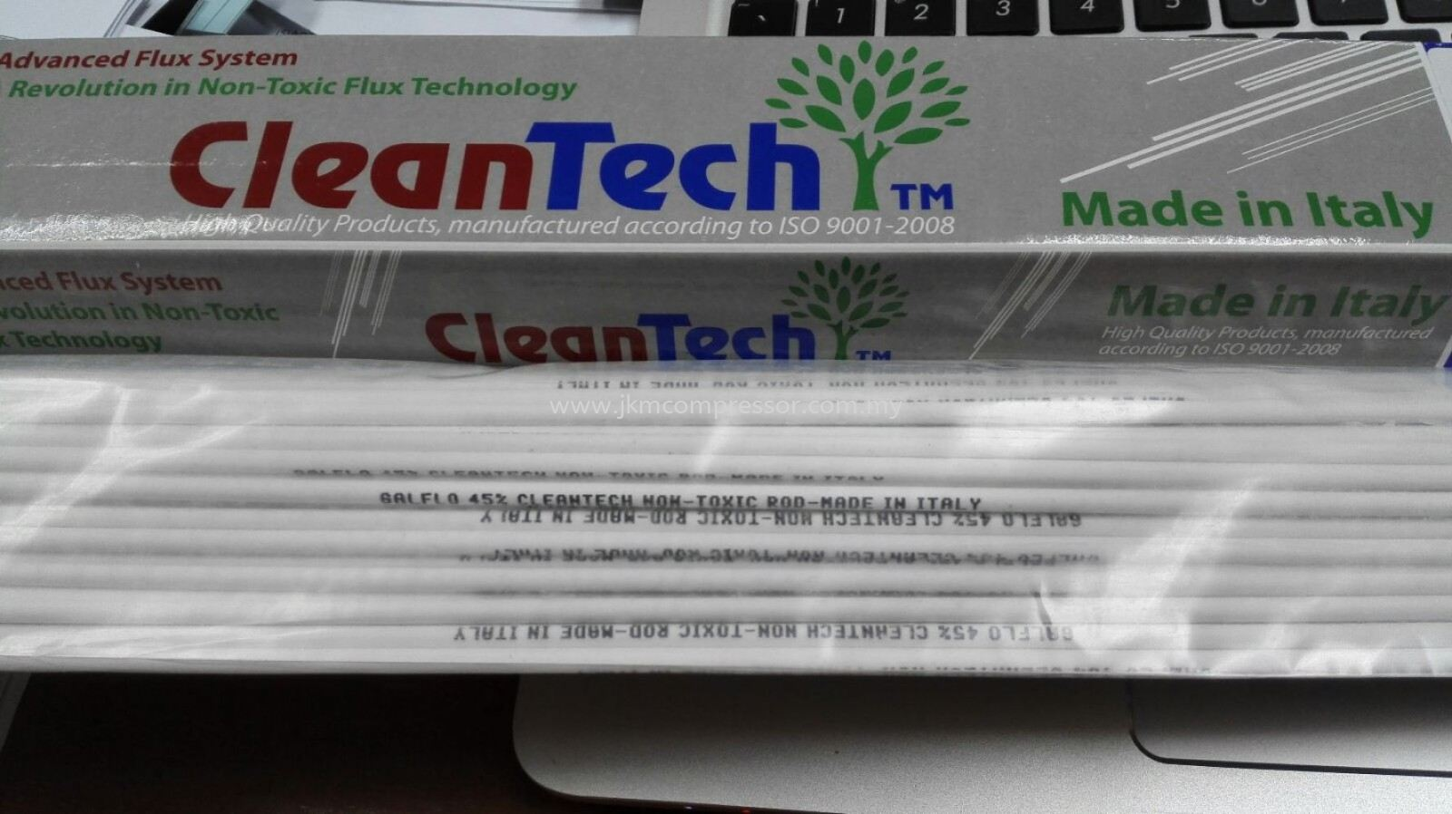 GALFLO 45% CLEANTECH NON-TOXIC FLUX COATED ROD