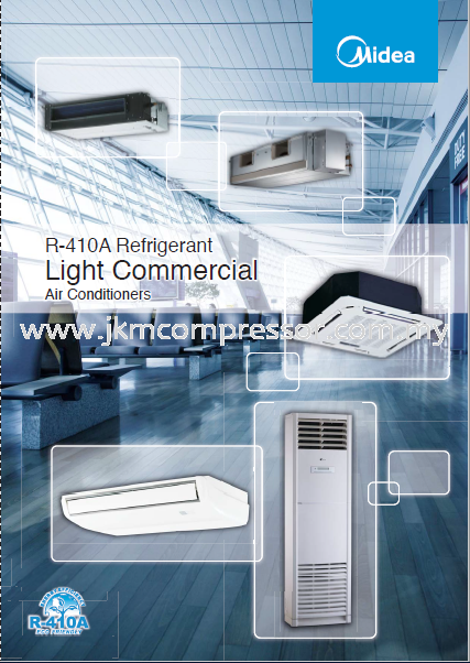 MIDEA LIGHT COMMERCIAL SPLIT UNIT