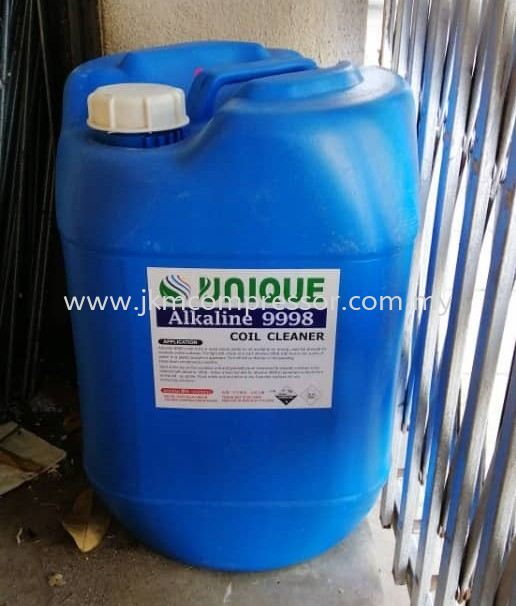 UNIQUE ALKALINE CHEMICAL COIL CLEANER 9998 - 25 LITER
