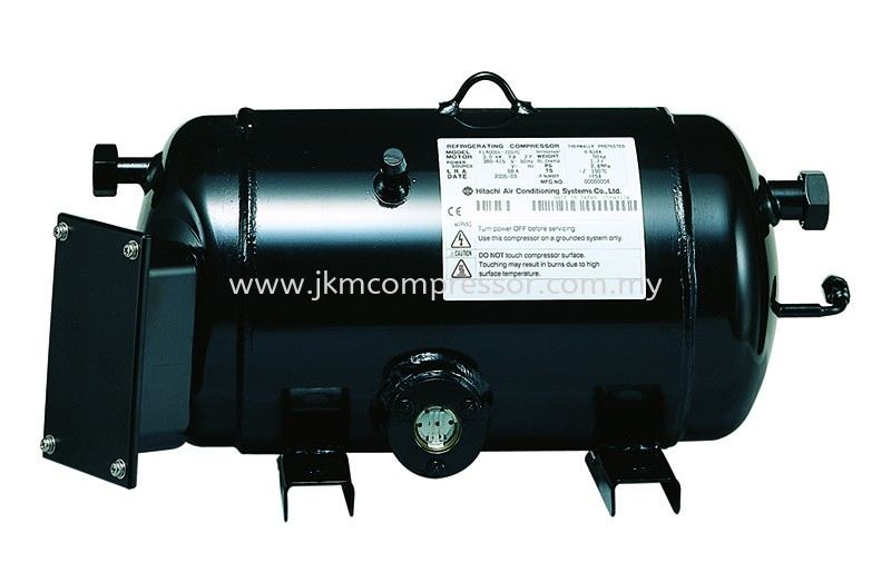 HITACHI HORIZONTAL REFRIGERATING SCROLL COMPRESSOR