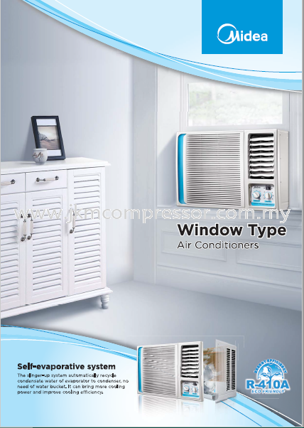 MIDEA R410A WINDOW TYPE AIR CONDITIONING