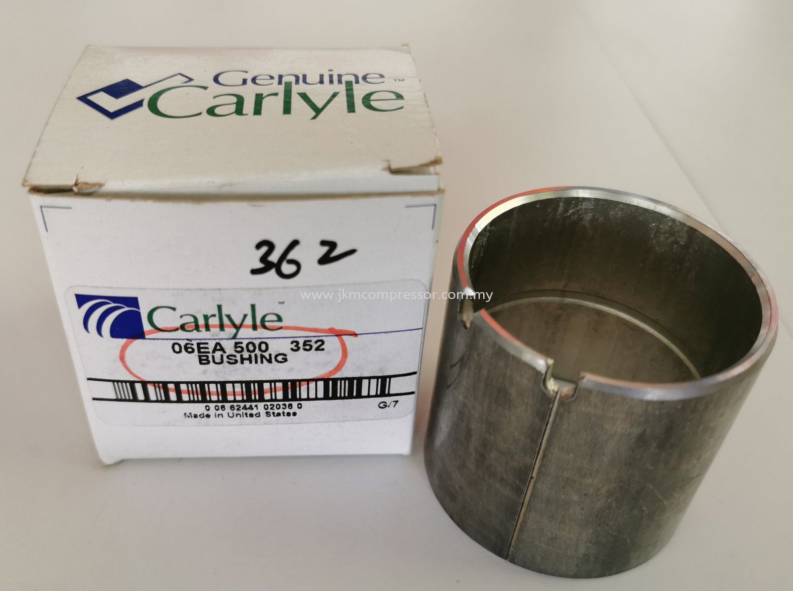 06EA500362-CARLYLE 06E COMPRESSOR BUSHING (MOTOR END) ; MAIN CENTRE BEARING (MOTOR END)
