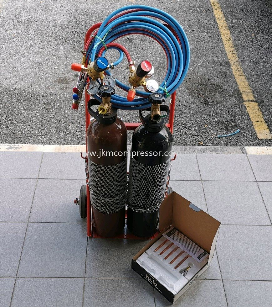 PORTABLE WELDING SET C/W ACCESSORIES