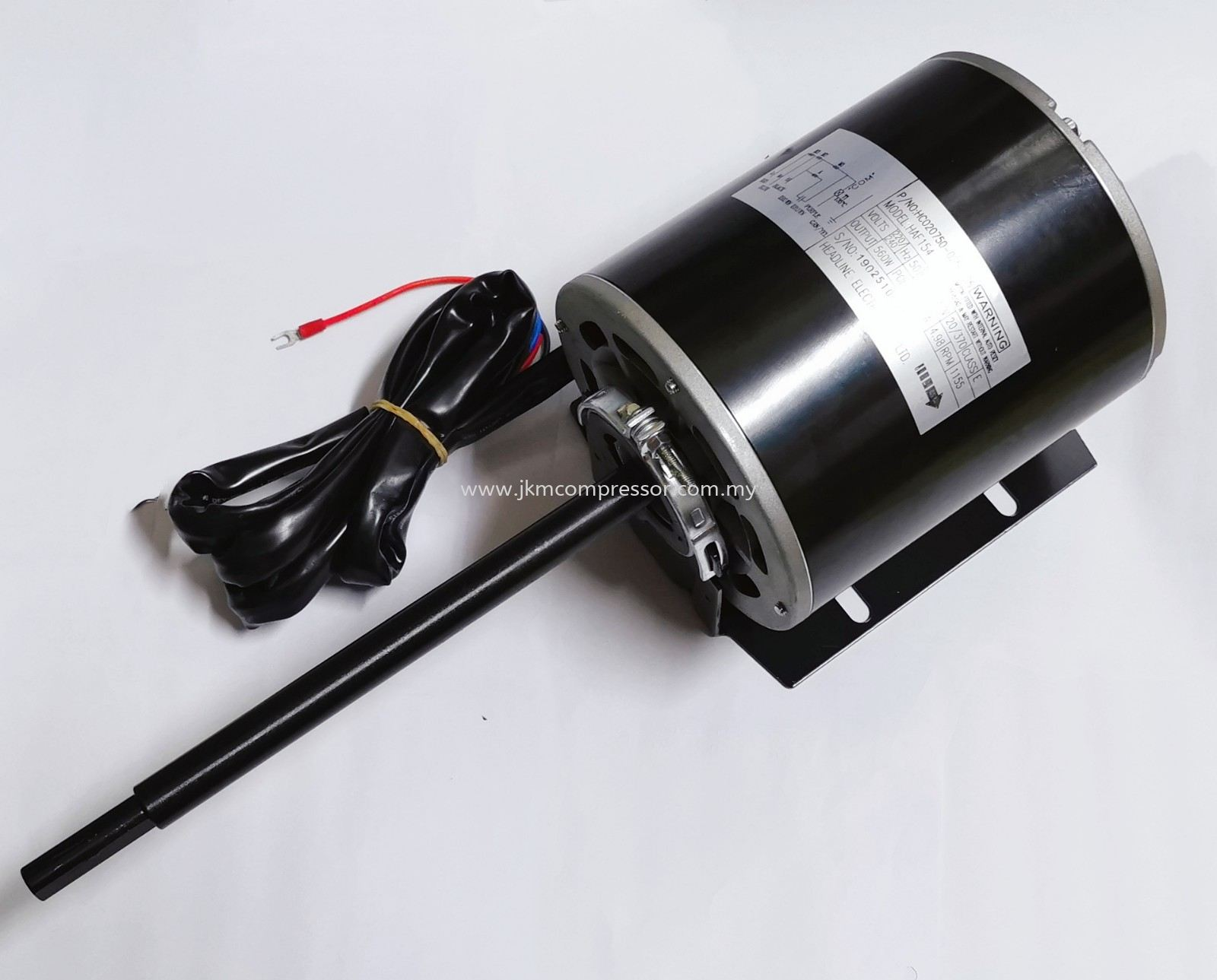 HC020750-0250-25 - CARRIER HAF154 HEADLINE FAN MOTOR ; 220-240V 4P 560W 1155RPM
