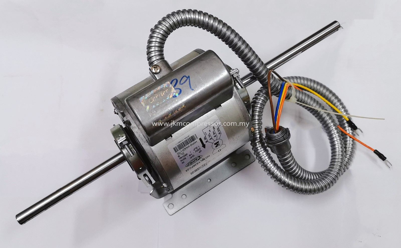HC39LY536FC25 - CARRIER HC39LY536FC25 FAN MOTOR ; 230V 4P