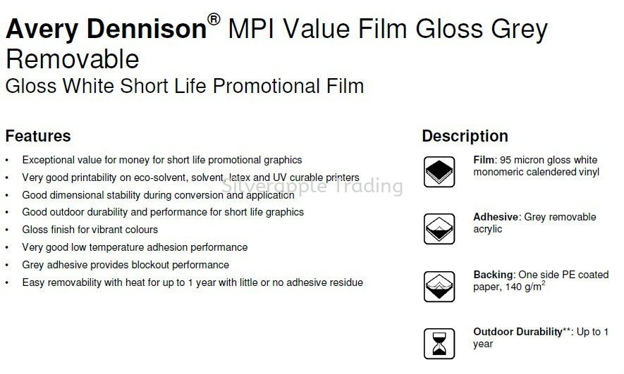 Avery MPI Value Film