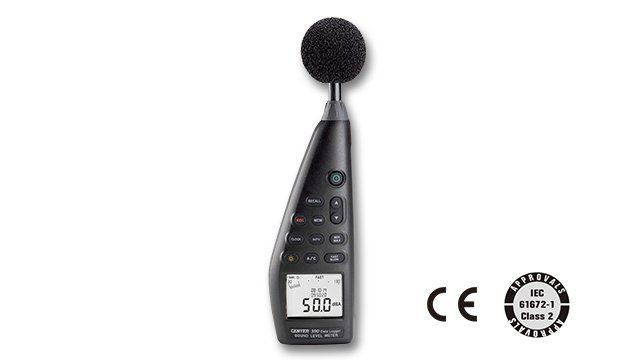 CENTER 390 DATA-LOGGING SOUND LEVEL METER (IEC 61672-1 class 2)