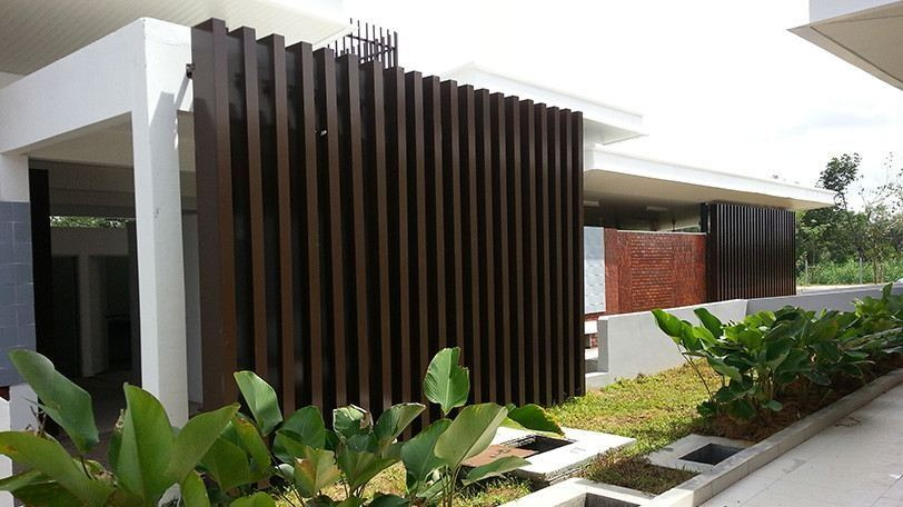 Vertical Box Louvres