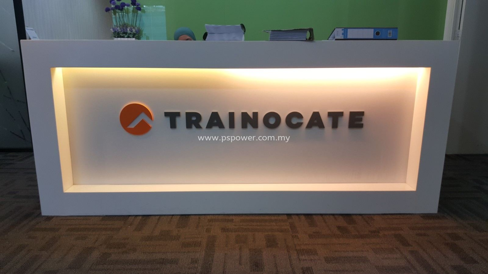 Custom Reception Signs for Office
