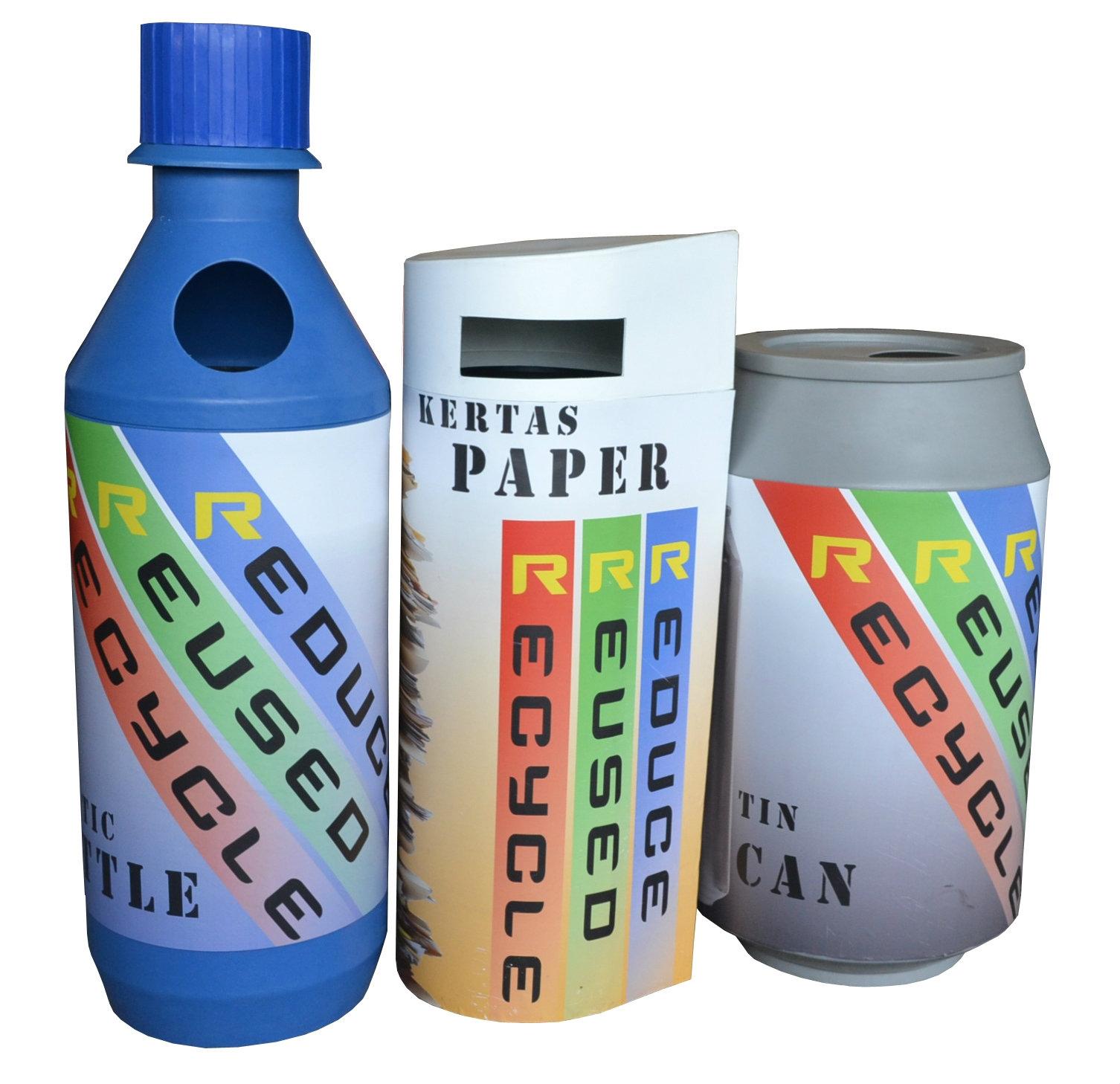 EH Bonanza Recycle Bin (HDPE)