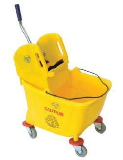 EH Trolley Cleaning Single Wringer Bucket
