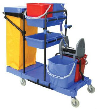 EH Trolley Multifunctions Janitor Cart