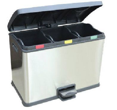 EH Recycle Rejoice Step Bin 36L