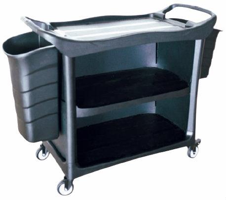 EH 3 Tiers Utilities Cart c/w 3 Side Cover & Bucket 3UC-612