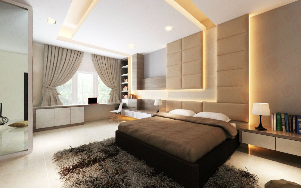 Create a daring aesthetic in your master bedroom