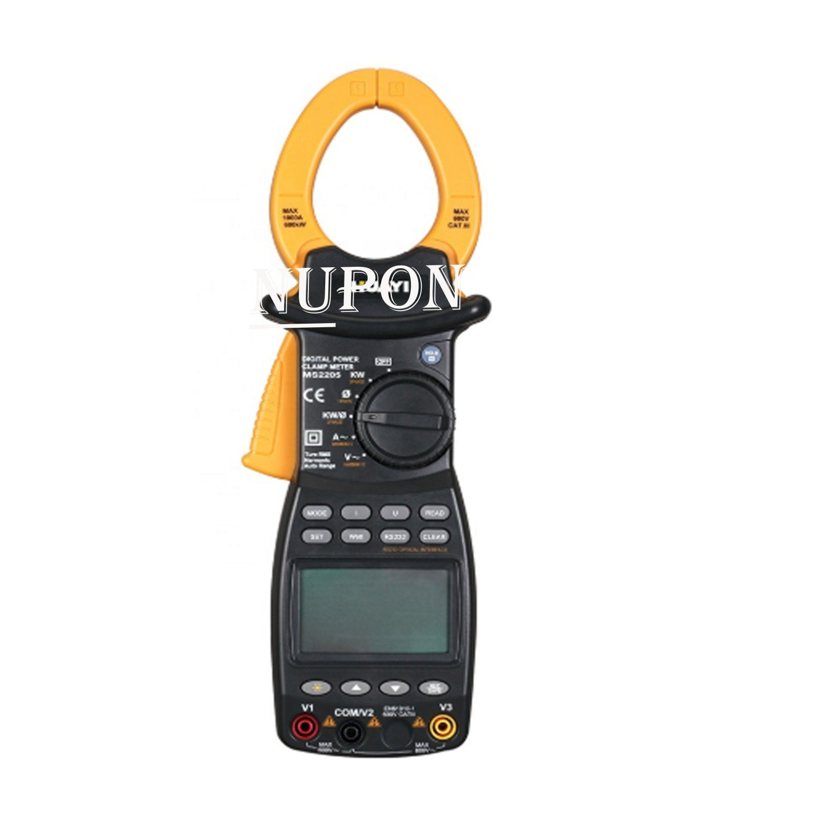 RUE RMS 3 Phase Harmonic Power Clamp Tester 600KVAR With RS232 Interface