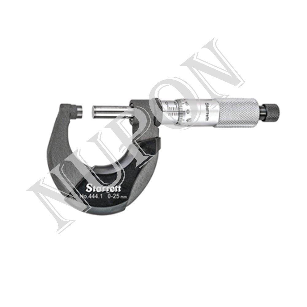 STARRETT 444.1MXRL-25 Outside Micrometer